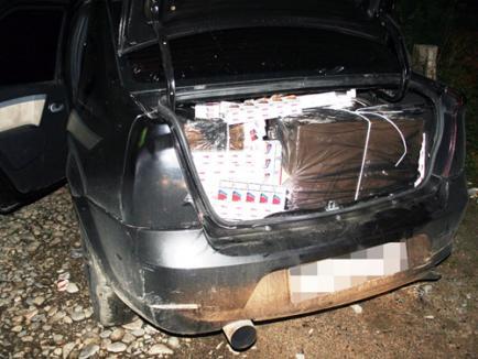 O nouă captură de ţigări de contrabandă în Salonta