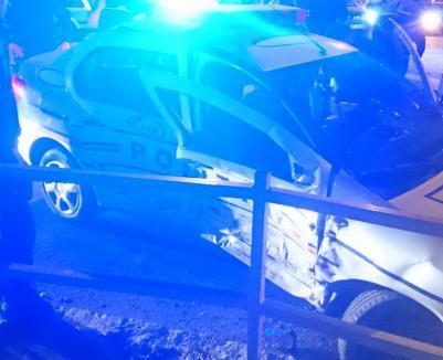 Doi poliţişti şi un pasager din Passat-ul care i-a izbit au ajuns la spital în urma accidentului de pe Magheru