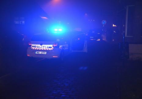 Urmărire în trafic, în Oradea: Un polițist de frontieră, băut la volan, a încercat să fugă de polițiștii rutieri