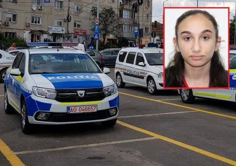Fată de 14 ani din Oradea, dată dispărută de familie