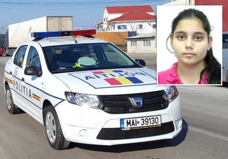 O adolescentă de 16 ani din Bihor este căutată de Poliţie după ce a fugit de acasă
