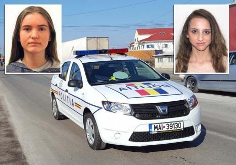 Le-aţi văzut? Încă două adolescente din Bihor sunt căutate de Poliţie