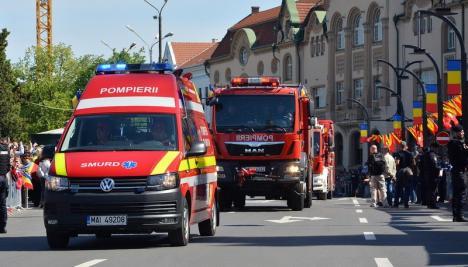 Vine Ziua Pompierilor! Toate subunităţile din Bihor îşi deschid porţile