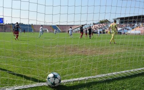 Luceafărul a pierdut la scor de neprezentare, la Suceava