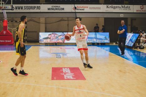 Victorie clară cu CSM Focşani pentru 'leii roşii' în primul duel din această săptămână (FOTO)