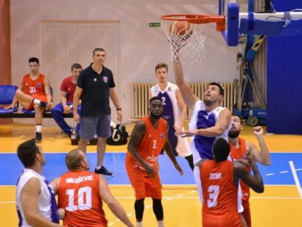 Baschetbaliştii de la CSM CSU Oradea au câştigat finala mică a turneului internaţional amical dotat cu Cupa Timişoara
