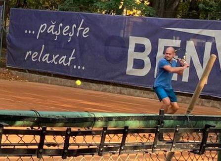 Judecătorul Antik Levente de la Curtea de Apel Oradea e din nou campion. S-a terminat 'Cupa Justiţiei' la tenis (FOTO)