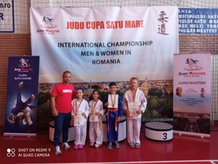 Viitorul Borş, medalii la Cupa Satu Mare de judo juvenil (FOTO)
