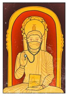 Medici sfinţi: ilustrațiile unei artiste au scandalizat Biserica Ortodoxă (FOTO)