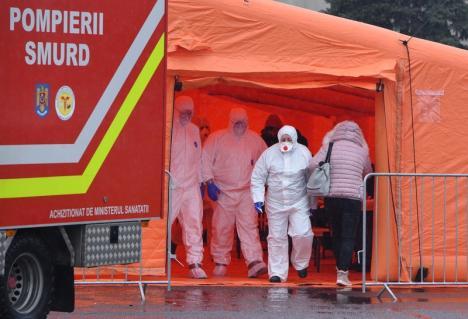 Surse: Bihoreanca infectată cu coronavirus a avut contact cu trei persoane