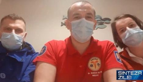 Mărturia unuia dintre medicii voluntari din Oradea care au plecat să ajute în Italia: Frica şi emoţiile fac parte din viaţa fiecărui om, dar am fost pregătiţi (VIDEO)