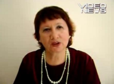 O româncă 'vorbeşte' cu spiritul lui Michael Jackson (VIDEO)