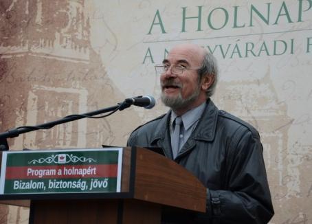 'Tradiţia' continuă: UDMR-istul Meleg Vilmos, de profesie actor, va conduce Filarmonica orădeană