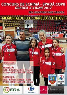 Era Park Oradea găzduieşte ediţia a VI-a a Memorialului Cornelia Ille la scrimă