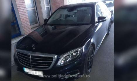 Mercedes de 60.000 de euro, furat în urmă cu două săptămâni din Anglia, a fost oprit la frontiera Borş