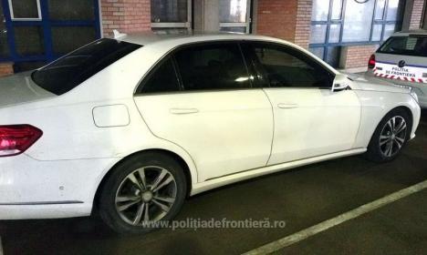 Un bihorean a fost prins la Vama Borş la volanul unui Mercedes de 20.000 euro furat din Italia