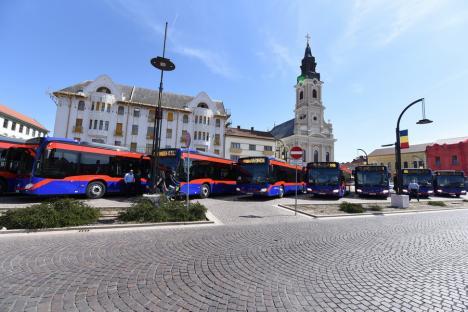 Încă nouă autobuze Mercedes Citaro Hybrid vor circula în curând prin Oradea (FOTO / VIDEO)