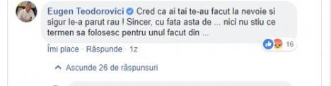 Ministrul Finanţelor are vreme să se înjure cu internauţii pe Facebook: 'Să aveţi zile câţi bani am eu de dat la stat!' (FOTO)