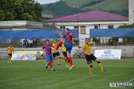 CS Oşorhei a încheiat sezonul cu un egal la Cugir şi a ocupat locul IV în clasament