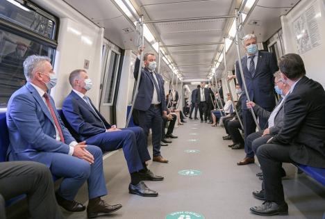 După 9 ani. Magistrala 5 a metroului bucureştean a fost inaugurată(VIDEO)