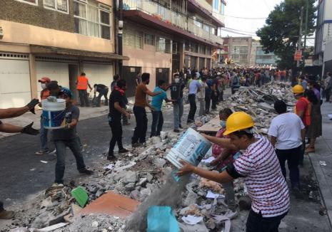 Cutremur de 7,1 în Mexic: peste 200 de morți