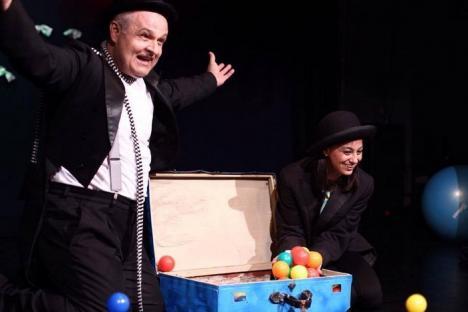 'Mic sau mare?': Spectacolul pentru bebeluşi al trupei Arcadia, invitat la un festival de amploare mondială