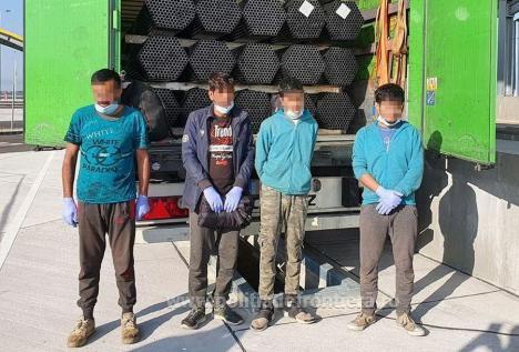 Noul punct de frontieră Borş II, inaugurat şi de... migranţi