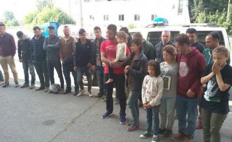 Spre Schengen! Numărul migranţilor prinşi de ITPF Oradea s-a triplat. Marţi au fost capturate 22 de persoane din Orientul Mijlociu şi India