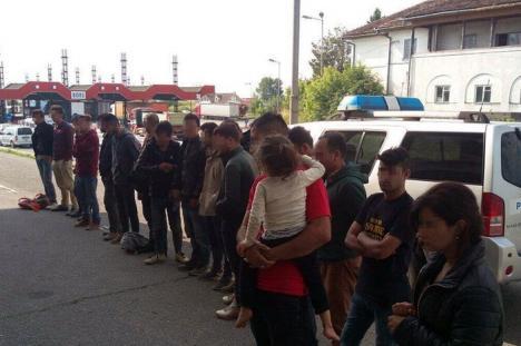 16 irakieni şi sirieni, opriţi la Borş din drumul ilegal spre Vest
