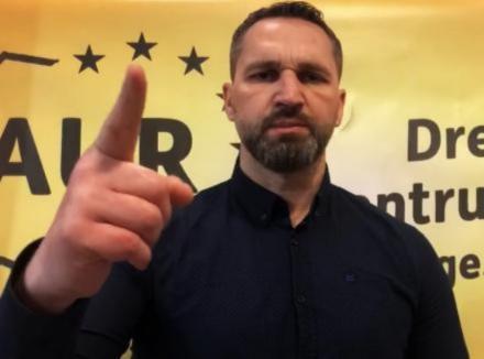 Deputatul AUR Mihai Lasca: 'Mergem înainte!'. Niciun cuvânt despre activitatea de șmenar din tinerețe (VIDEO)