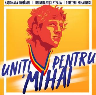 Uniţi pentru Mihai: Vedetele fotbalului românesc, între care Gheorghe Hagi şi Adrian Mutu, vor juca într-un meci demonstrativ la Oradea