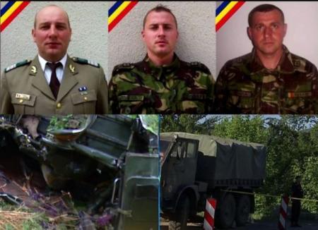 Bilanţul accidentului de joi noapte: Trei militari au murit