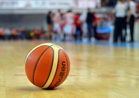 Baschet: CSM CSU Oradea va juca luni pe terenul echipei Dinamo