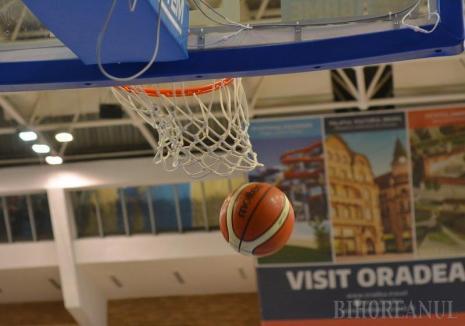 Se reia Liga Naţională de baschet: CSM CSU Oradea are derby, marţi seară, acasă, cu BC CSU Sibiu