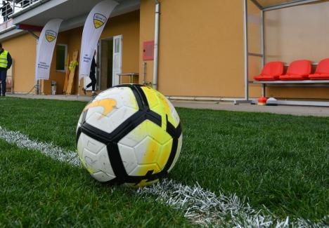 Trei formaţii bihorene joacă miercuri în Cupa României la fotbal