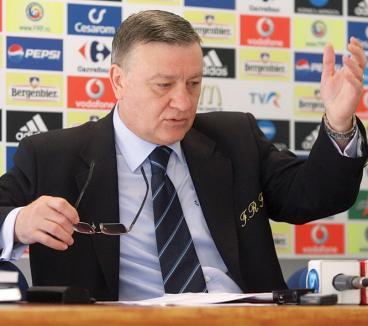 Mircea Sandu, ales a şasea oară la comanda FRF