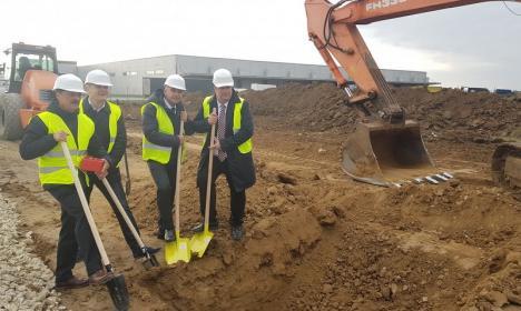 Investiție de 15 milioane de euro într-o fabrică germană de lanțuri auto în parcul industrial din Oradea (FOTO)