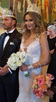 Cum a arătat Crina Abrudan în rochia de mireasă (FOTO)