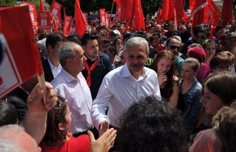 Miting de seară: Şeful PSD, Liviu Dragnea, vrea să adune 'sute de mii de oameni' pentru protejarea justiţiei