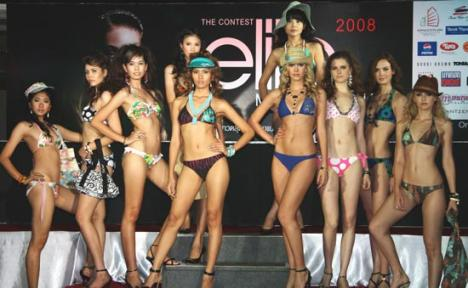 Finalistele Elite Model Look 2010 se aleg la Lotus