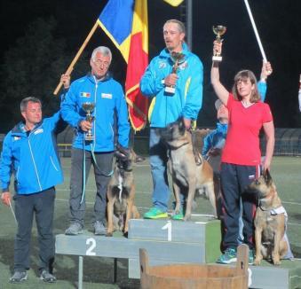 Farouk, un ciobănesc belgian din canisa Braveheart Oradinum, vicecampion mondial