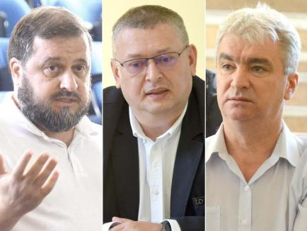 Trei candidaţi pentru şefia Senatului Universităţii din Oradea: Un fost preşedinte şi doi foşti vicepreşedinţi