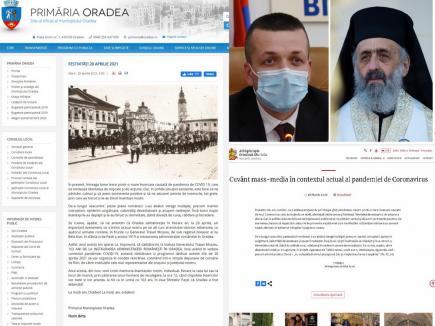 Jenant: Mesajul primarului de Oradea, Florin Birta, cu ocazia eliberării oraşului, plagiat după... IPS Irineu! (FOTO)