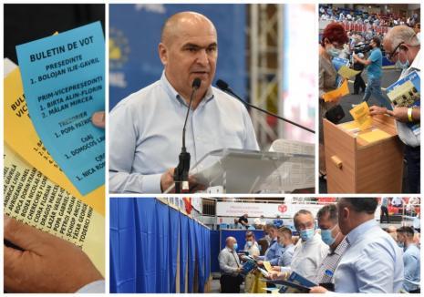 Câte voturi au luat candidații la conducerea PNL Bihor: Bolojan, votat de 608 din cei 692 delegați din tot județul. Birta, aproape să-l egaleze la numărul de voturi