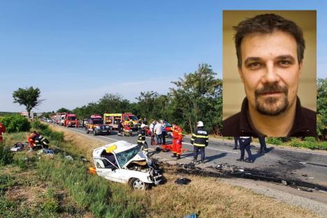 Şoferul care a provocat accidentul mortal de la Biharia este redactorul şef al ziarului Bihari Napló. Kristály Lehel se întorcea din Ungaria, de la o întrunire la care a participat și ministrul Tánczos Barna (VIDEO)
