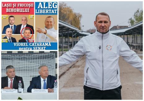 """Ioan Mang vrea să-l dea pe Viorel Cataramă pe mâna Poliţiei pentru că l-a făcut pe senatorul Florian Bodog """"laş şi fricos"""""""