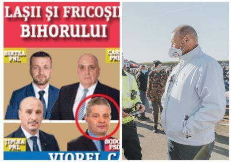 Cataramă, bannerele jos! Partidul Pro România, obligat de BEJ să retragă materialele electorale cu mesajul 'Laşii şi fricoşii Bihorului'
