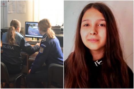 Minoră dispărută în Oradea: Poliţiştii şi familia o caută pe Denisa Maria, în vârstă de 13 ani
