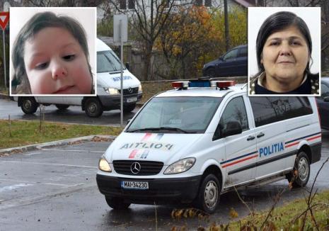 Poliţia din Bihor e în alertă: O bunică şi nepoţica ei de 4 ani au dispărut de acasă!
