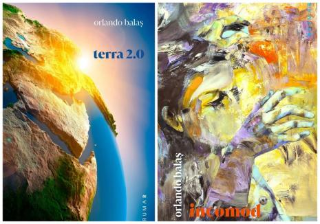 Dublă lansare de carte: Orlando Balaş îşi prezintă cele mai noi cărţi în faţa orădenilor